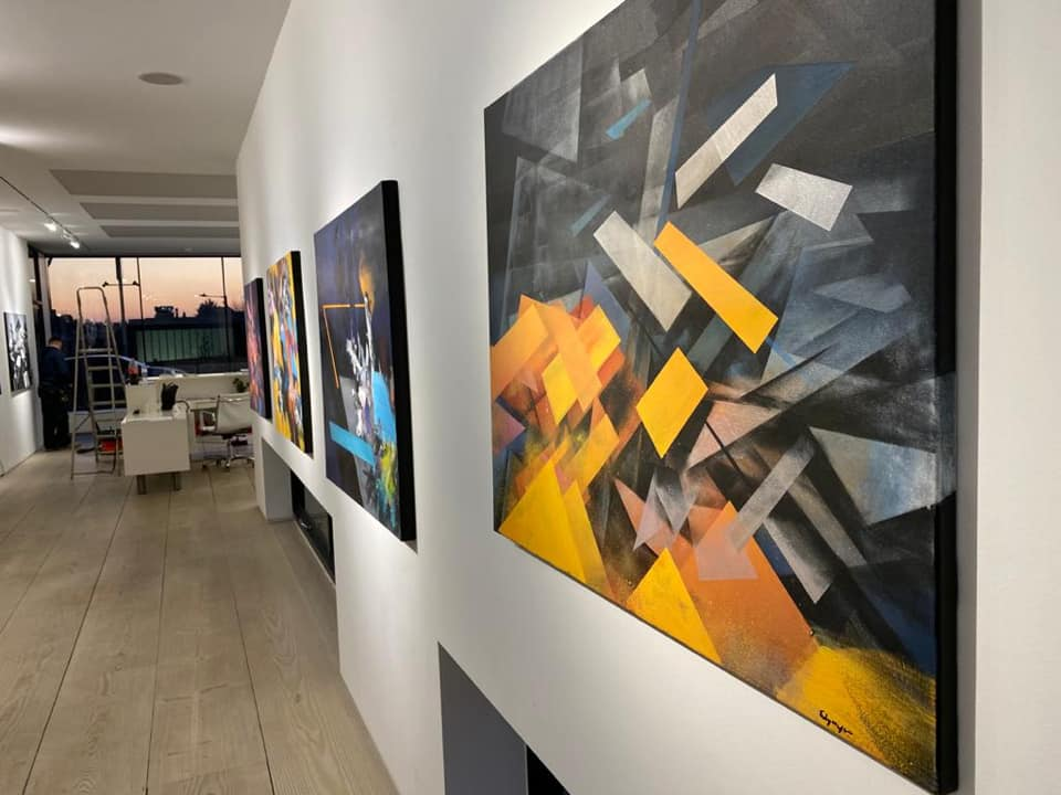 Wystawa Tomasza Fedyszyna w Londynie