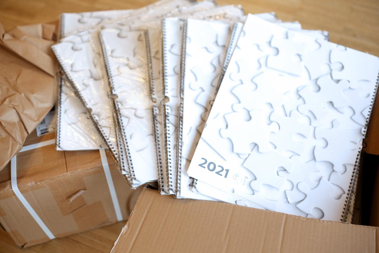 Limitowany kalendarz Galerii OKNO na 2021 rok